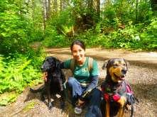Me and my furries, Lola and Frieda